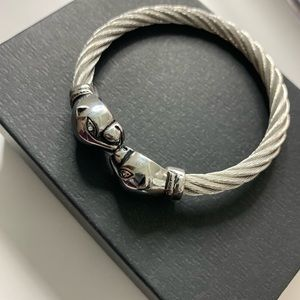 Jewelry - Stainless Steel Panther head cuff/bracelet